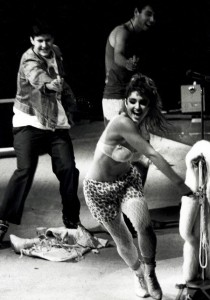 The Beastie Boys and Madonna mid 80s